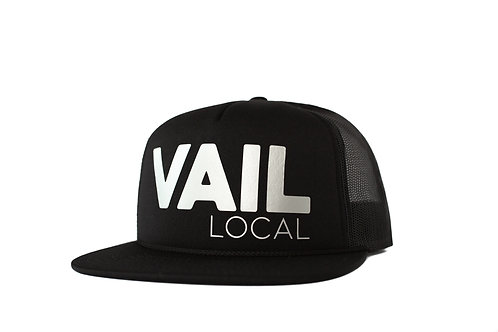 Vail Local Limited Edition Trucker - Metallic Ice