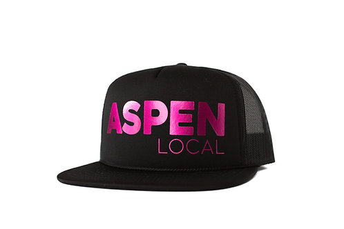 Aspen Local Limited Edition Trucker - Metallic Pink