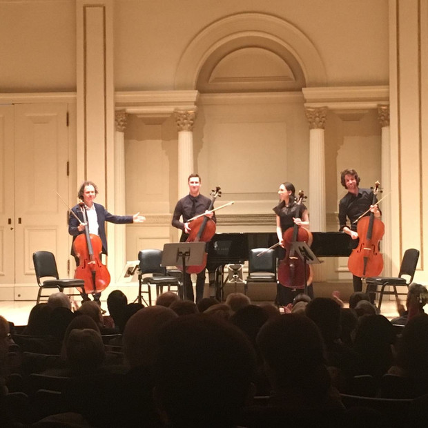 Weill Recital Hall, 2018