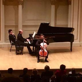Weill Recital Hall, 2017