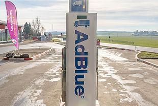 Tankstelle Wildetaube - LKW-AdBlue-Zapfsäule