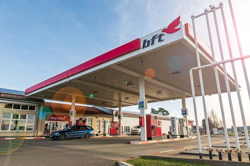 bft Tankstelle Wildetaube