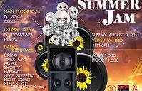 2011年 6周年発表会 プチ発表会/デイ・イベント 「Summer Jam」、Yebisu Ya Pro、 DJ Soop, Don-T-No, Hideya, Cebo