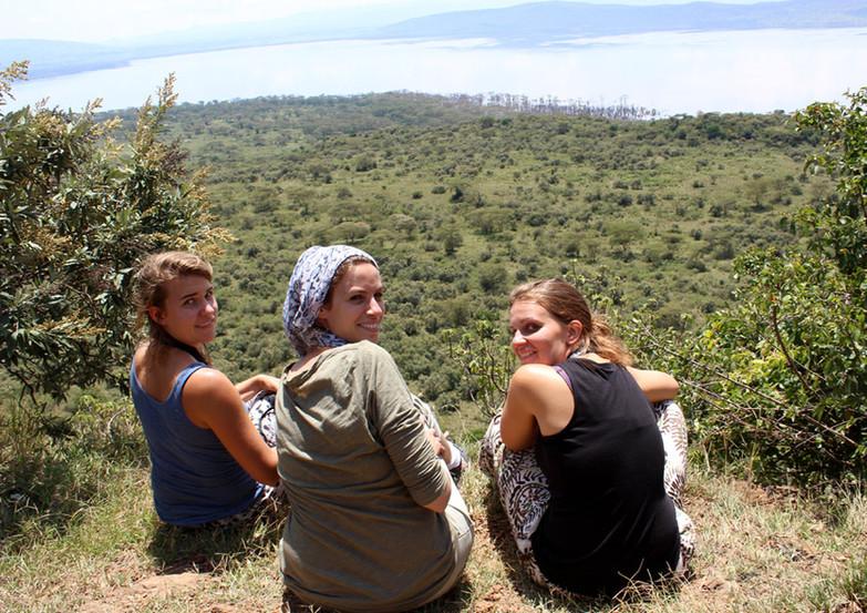 écovolontaires à Nakuru Park