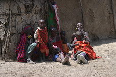 village Maasai