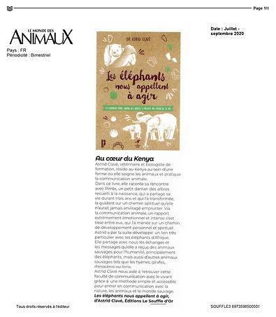 2020-06-17-LE MONDE DES ANIMAUX-Juillet