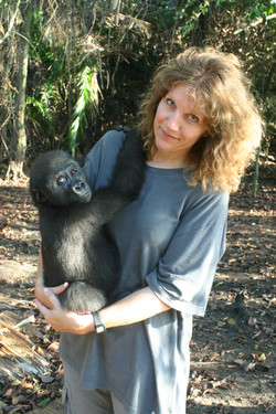 Astrid et le gorille Cessé