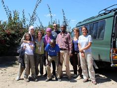 écovolontaires en safari