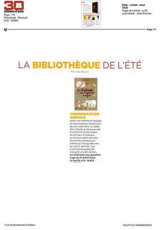 2020-06-24-30 MILLIONS D'AMIS-Juillet -