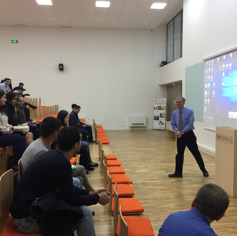 Gyumri & Vanadzor Teaching Initiative 2018
