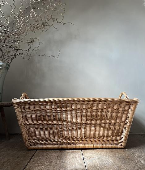 Vintage German Linen Basket