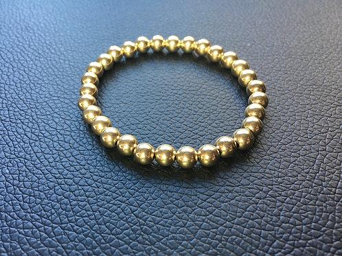 Deo 6mm - 14K Gold Filled Bracelet