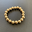 Thumbnail: 10mm Gold Beaded Bracelet - Our Largest Balls
