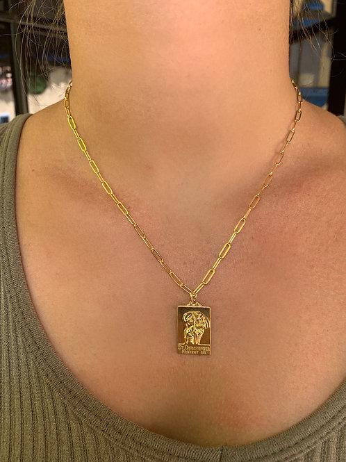 Large St. Christopher - 14K Gold Filled