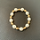 Thumbnail: Beautiful White Pearl and Oval 14K Gold Filled Bracelets