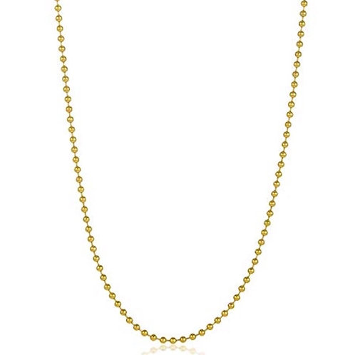Beaded Chain in 14k Gold Filled