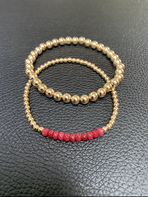 Crushed Ruby and 5mm Bundle