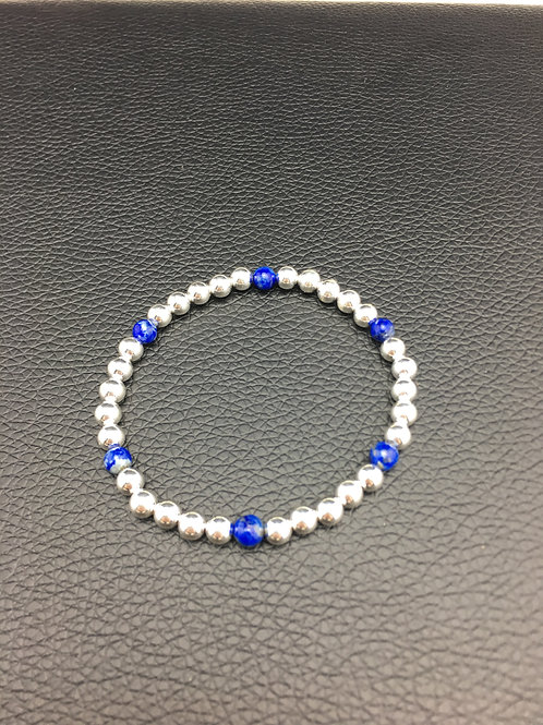 Lapis and Sterling Silver