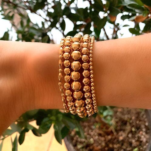 5 Eye Catching Gold Bracelet Bundle