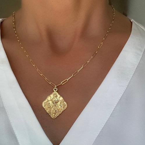 Diamond 4-Way Medal