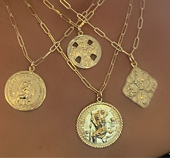 Religious Medals and Saints, Gold Filled