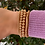 Thumbnail: Deo duPont Classic 14K Gold Filled Bracelets Cluster of 5