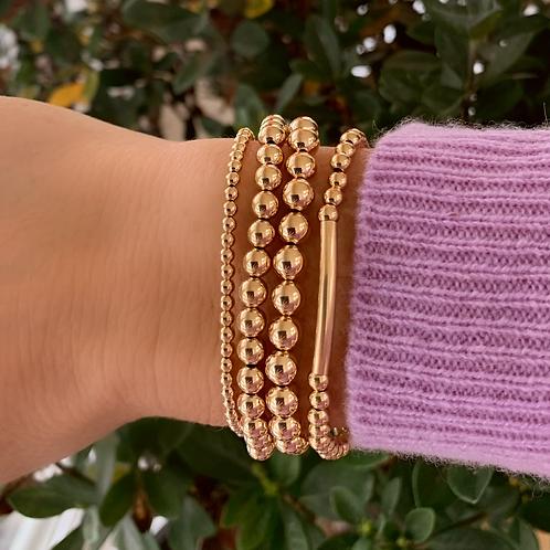 Deo duPont Classic 14K Gold Filled Bracelets Cluster of 5