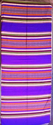 Vibrant brocade tapestry
