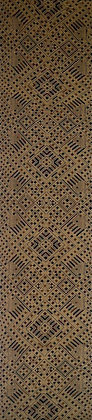 Earth tone geometric design wall-hanging