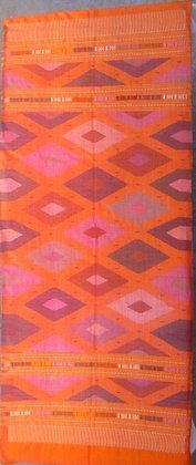orange tapestry