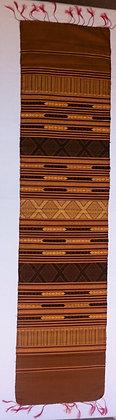 Two-toned brocade shawl