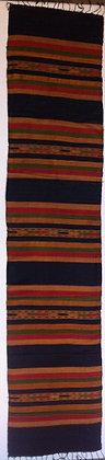 Navy rainbow scarf