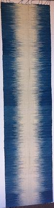 Blue ikat scarf