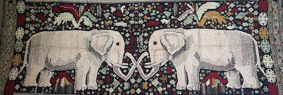 Elephants Mating Wall Hanging