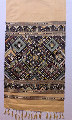 Crame Shawl with brocade designs II