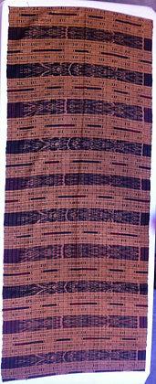 Ikat table runner/shawl