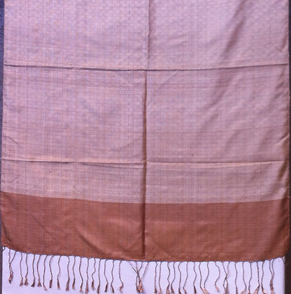 Two toned tan scarf