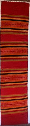 Red rainbow scarf