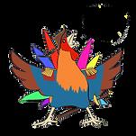hakke-hans kalder på alle dyrene - fra Marcus Skovfars børnebog Hakke-Hans lægger et æg
