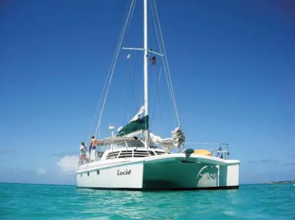 The Manta 42 is a classic American-built cruising catamaran Photo by smartmarineguide.com