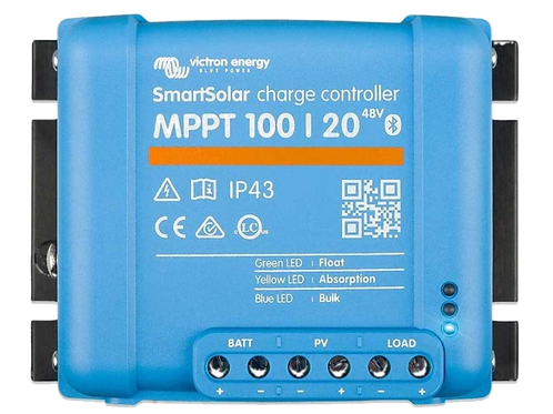 Victron 100/20A 48V DC Smart Solar charge controller