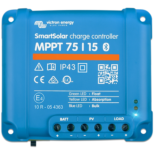 Victron 75/15A 12/24V Smart Solar charge controller