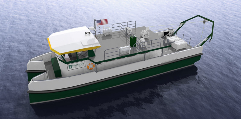 Hybrid-electric boat with world-first winch system to set sail in 2022