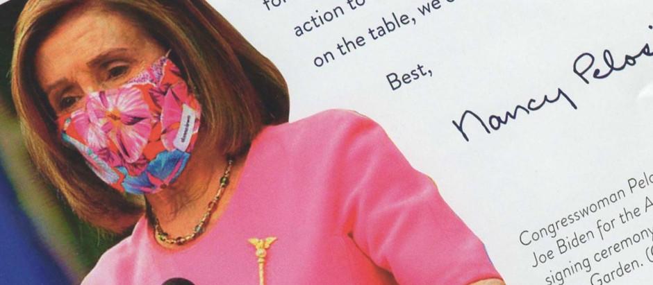 Nancy Pelosi's secret mesage to voters