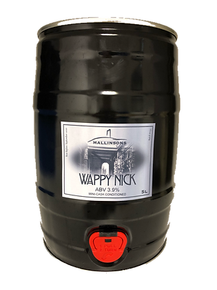 Wappy Nick 5L Mini-Cask (3.9%)