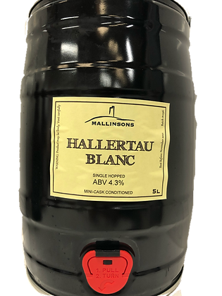 Hallertau Blanc 5L Mini-Cask (4.3%)