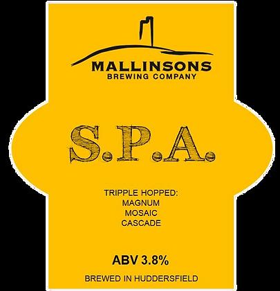 Session Pale Ale (3.8%)
