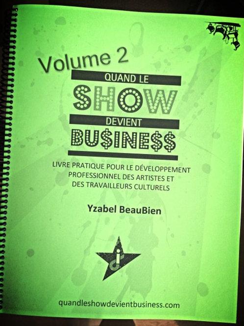 Quand le Show devient Business, imprimé