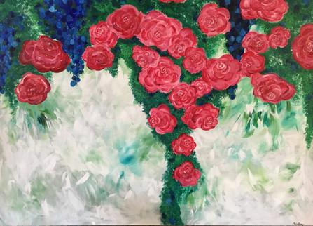 Rose Bush - Flower Series