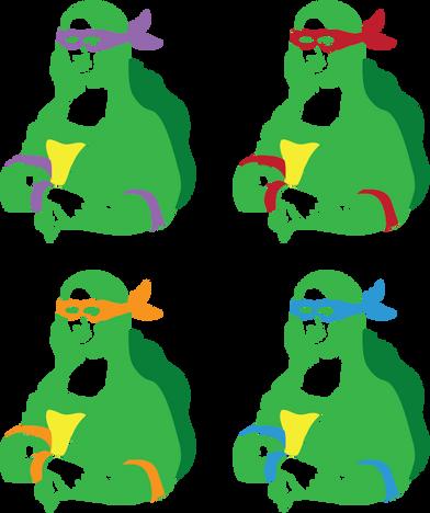 Mona Ninja Lisa
